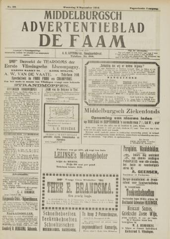 de Faam en de Faam/de Vlissinger 1915-09-08