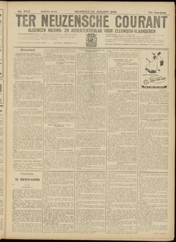 Ter Neuzensche Courant. Algemeen Nieuws- en Advertentieblad voor Zeeuwsch-Vlaanderen / Neuzensche Courant ... (idem) / (Algemeen) nieuws en advertentieblad voor Zeeuwsch-Vlaanderen 1938-01-24
