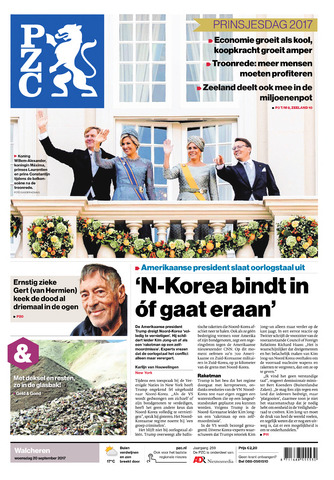 Provinciale Zeeuwse Courant 2017-09-20
