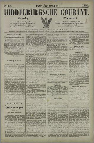 Middelburgsche Courant 1883-01-27