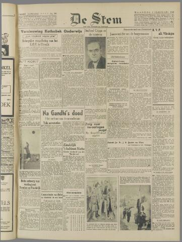 de Stem 1948-02-02