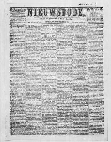 Sheboygan Nieuwsbode 1859-02-23