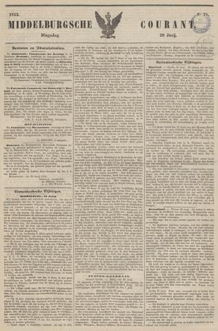 Middelburgsche Courant 1852-06-29