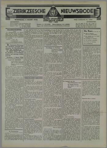 Zierikzeesche Nieuwsbode 1936-03-04