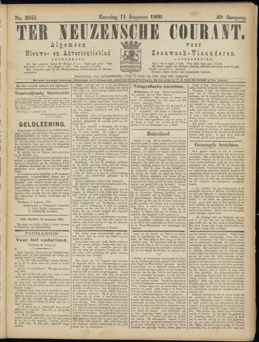 Ter Neuzensche Courant. Algemeen Nieuws- en Advertentieblad voor Zeeuwsch-Vlaanderen / Neuzensche Courant ... (idem) / (Algemeen) nieuws en advertentieblad voor Zeeuwsch-Vlaanderen 1900-08-11