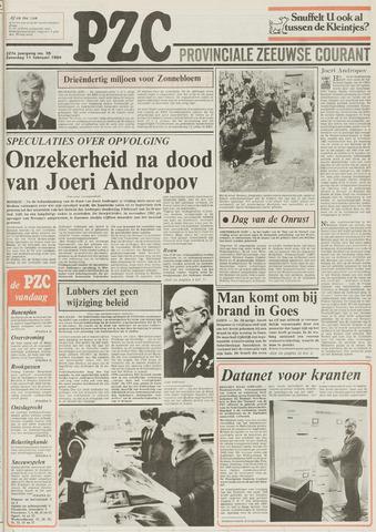 Provinciale Zeeuwse Courant 1984-02-11