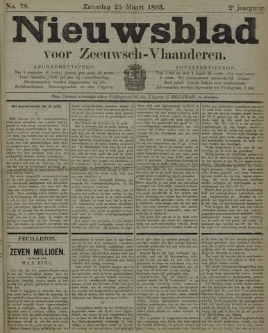 Nieuwsblad voor Zeeuwsch-Vlaanderen 1893-03-25