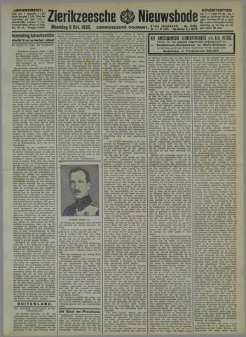 Zierikzeesche Nieuwsbode 1930-10-06