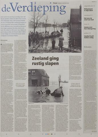 Watersnood documentatie 1953 - kranten 2003-01-31