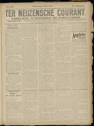 Ter Neuzensche Courant. Algemeen Nieuws- en Advertentieblad voor Zeeuwsch-Vlaanderen / Neuzensche Courant ... (idem) / (Algemeen) nieuws en advertentieblad voor Zeeuwsch-Vlaanderen 1929-05-08