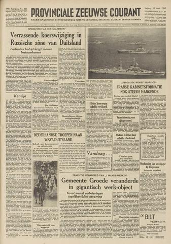 Provinciale Zeeuwse Courant 1953-06-12