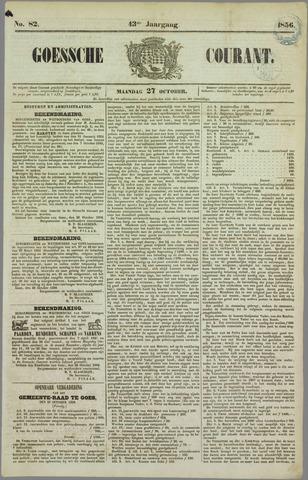 Goessche Courant 1856-10-27