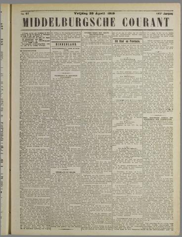 Middelburgsche Courant 1919-04-25