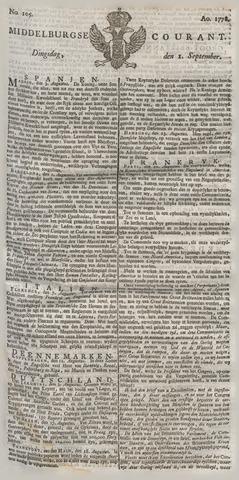 Middelburgsche Courant 1778-09-01