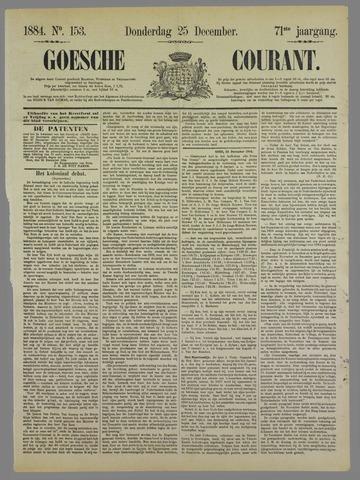 Goessche Courant 1884-12-25