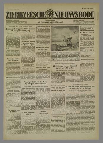 Zierikzeesche Nieuwsbode 1954-04-06