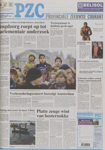 Provinciale Zeeuwse Courant 2004-11-22