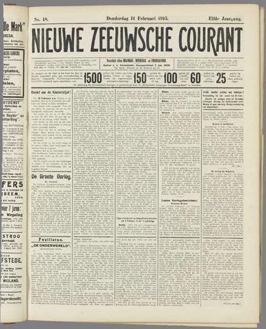 Nieuwe Zeeuwsche Courant 1915-02-11