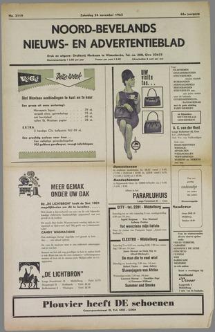 Noord-Bevelands Nieuws- en advertentieblad 1962-11-24