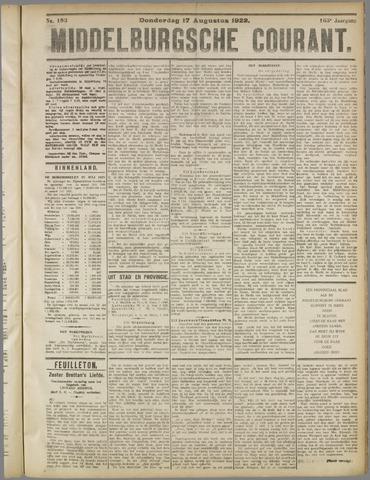 Middelburgsche Courant 1922-08-17