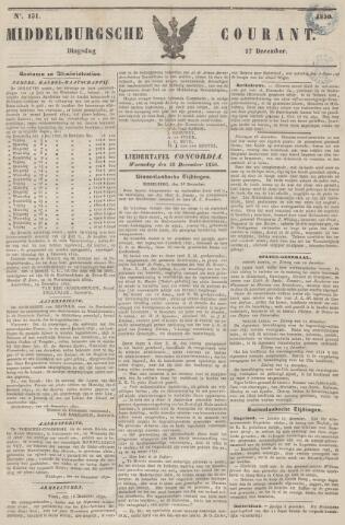 Middelburgsche Courant 1850-12-17