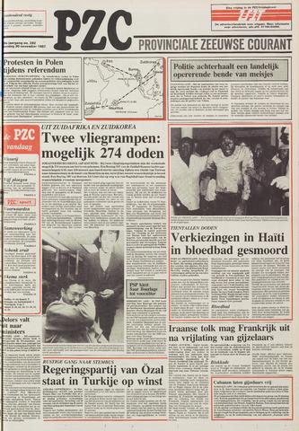 Provinciale Zeeuwse Courant 1987-11-30