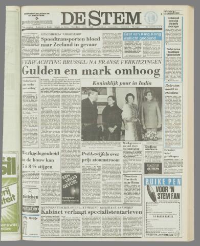 de Stem 1986-01-15