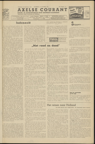 Axelsche Courant 1953-10-10
