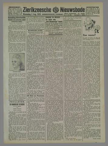 Zierikzeesche Nieuwsbode 1933-08-02