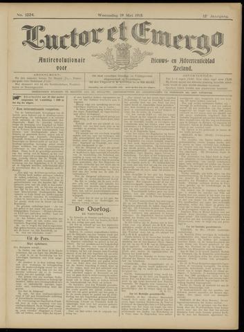 Luctor et Emergo. Antirevolutionair nieuws- en advertentieblad voor Zeeland / Zeeuwsch-Vlaanderen. Orgaan ter verspreiding van de christelijke beginselen in Zeeuwsch-Vlaanderen 1915-05-19