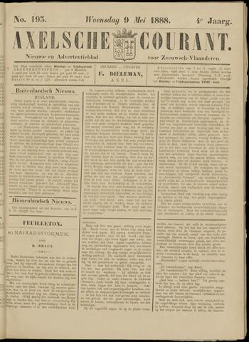 Axelsche Courant 1888-05-09