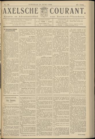 Axelsche Courant 1929-06-18