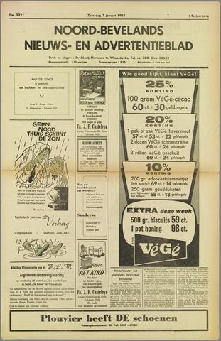 Noord-Bevelands Nieuws- en advertentieblad 1961-01-07