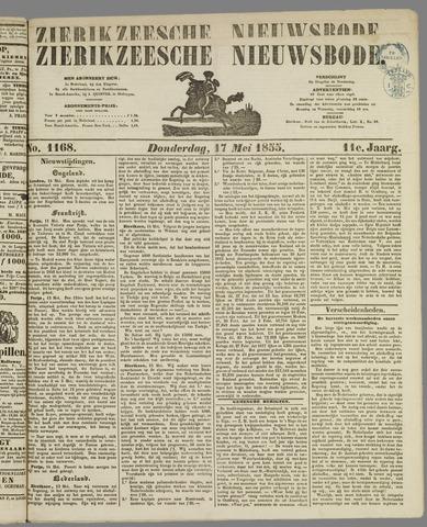 Zierikzeesche Nieuwsbode 1855-05-17