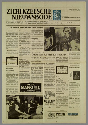 Zierikzeesche Nieuwsbode 1972-04-25