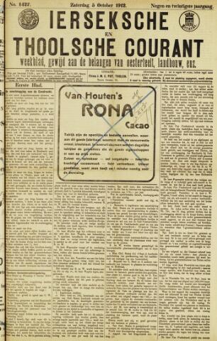 Ierseksche en Thoolsche Courant 1912-10-05