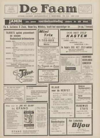 de Faam en de Faam/de Vlissinger 1967-09-21