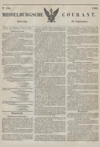 Middelburgsche Courant 1866-09-22