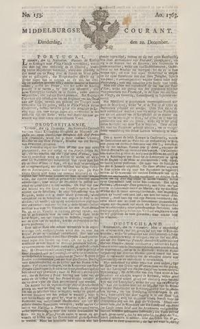 Middelburgsche Courant 1763-12-22