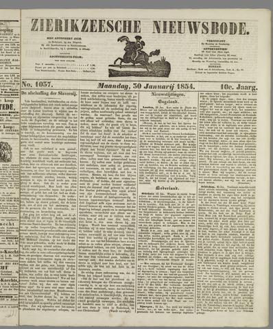 Zierikzeesche Nieuwsbode 1854-01-30
