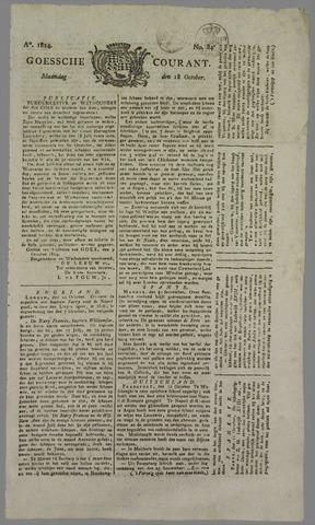 Goessche Courant 1824-10-18