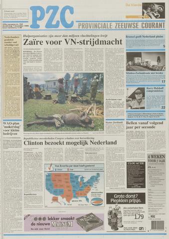 Provinciale Zeeuwse Courant 1996-11-07