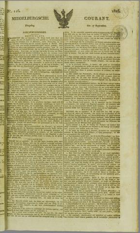 Middelburgsche Courant 1825-09-27