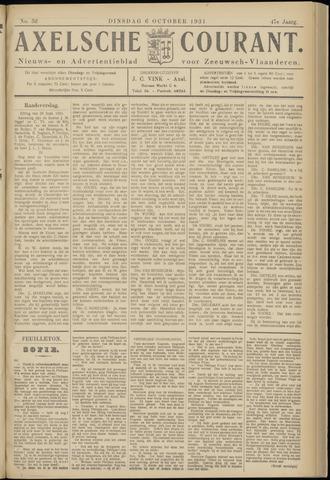 Axelsche Courant 1931-10-06