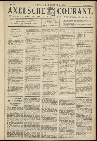 Axelsche Courant 1934-12-14
