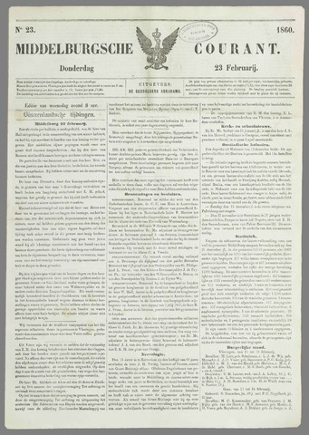 Middelburgsche Courant 1860-02-23