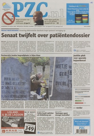 Provinciale Zeeuwse Courant 2009-10-29