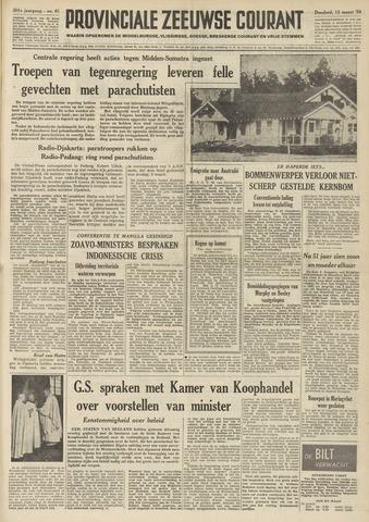 Provinciale Zeeuwse Courant 1958-03-13