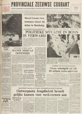 Provinciale Zeeuwse Courant 1972-04-28