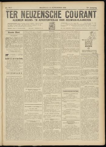 Ter Neuzensche Courant. Algemeen Nieuws- en Advertentieblad voor Zeeuwsch-Vlaanderen / Neuzensche Courant ... (idem) / (Algemeen) nieuws en advertentieblad voor Zeeuwsch-Vlaanderen 1932-11-21